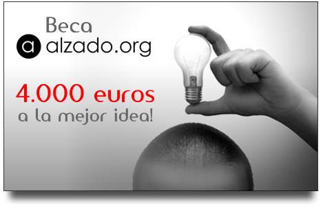 Gana 4000 euros con Alzado.org