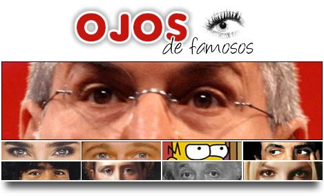 Los ojos de los famosos