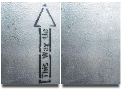 Limpieza de textura o pared