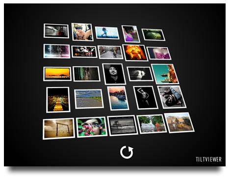 Galeria en Flash para Flickr