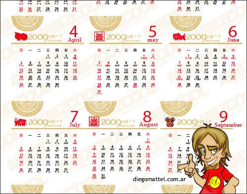 calendariochino