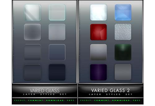 Estilos para photoshop Glass_styles