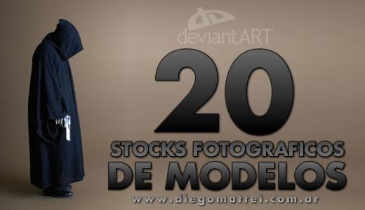 Stock fotografico de modelos